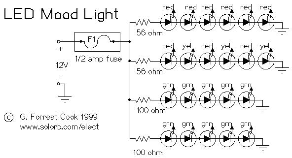LED Mood Light · CircuitsArchive